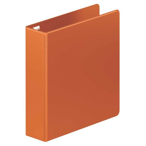Orange Ring Binders Image 1