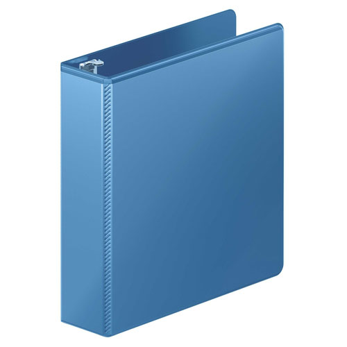 "Wilson Jones 2"" PC Blue Heavy Duty Round Ring View Binder 8pk (W363-44-7462PP) Image 1"