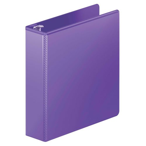 "Wilson Jones 2"" Purple Heavy Duty Round Ring View Binder 8pk (W363-44-267PP) Image 1"