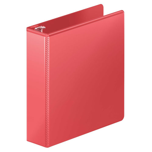 "Wilson Jones 2"" Red Heavy Duty Round Ring View Binder 8pk (W363-44-1797PP) Image 1"