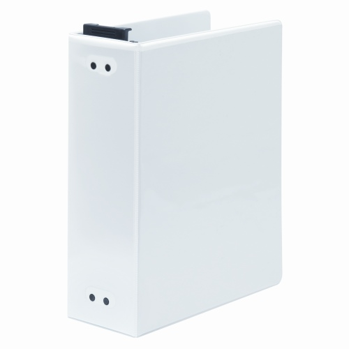 "Wilson Jones 2"" White Hanging View Binders 2pk (W365-44W) Image 1"