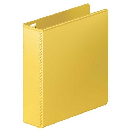 "Wilson Jones 2"" Yellow Ultra Duty D-Ring View Binder"