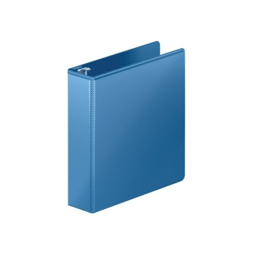 "Wilson Jones 2"" PC Blue Heavy Duty D-Ring View Binder 8pk (W385-44-7462PP), Ring Binders Image 1"