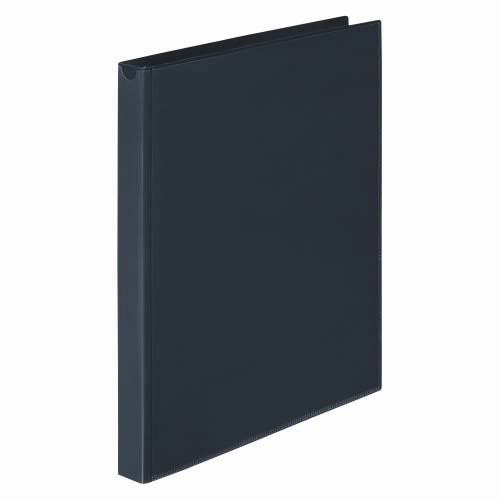 "Wilson Jones 3/8"" Black Non-Stick Flexible Binders 12pk (A7043334DA) Image 1"