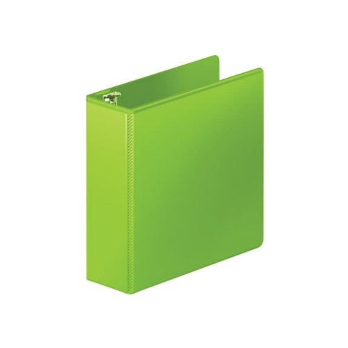 "Wilson Jones 3"" Chartreuse Heavy Duty D-Ring View Binder 8pk (W385-49-376PP), Wilson Jones brand Image 1"