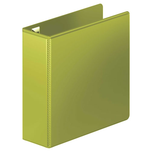 "Wilson Jones 3"" Army Green Ultra Duty D-Ring View Binder 8pk (W866-49-384PP) Image 1"