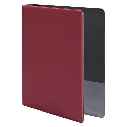 "Wilson Jones 3"" Dark Red Heavy Duty Opaque D-Ring Binders 6pk - PP (W384-49C) Image 1"