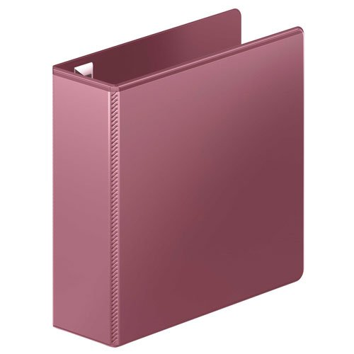 "Wilson Jones 3"" Dark Red Ultra Duty D-Ring View Binder 8pk (W866-49-195PP) Image 1"
