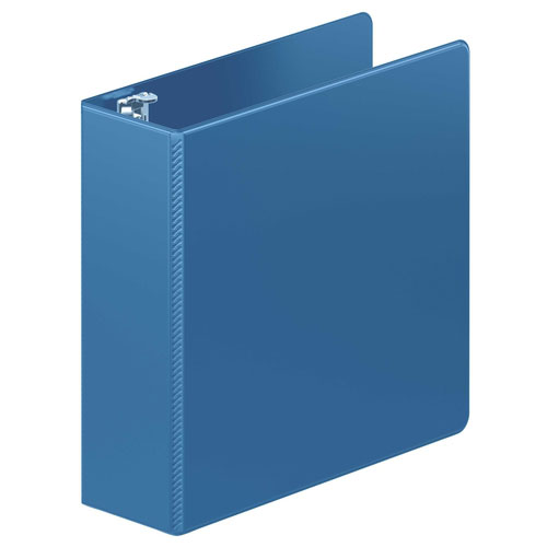 "Wilson Jones 3"" PC Blue Heavy Duty Round Ring Binder 8pk (W364-49-7462PP) Image 1"