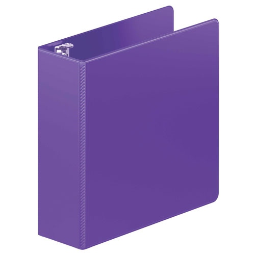 "Wilson Jones 3"" Purple Heavy Duty Round Ring Binder 8pk (W364-49-267PP) Image 1"