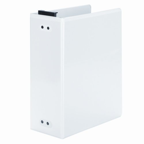 "Wilson Jones 3"" White Hanging View Binders 2pk (W365-49W) Image 1"