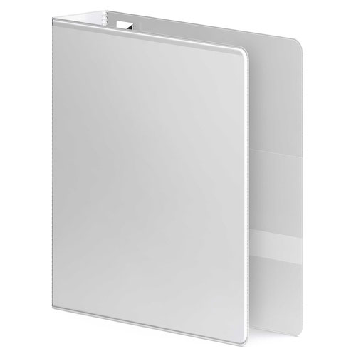 "Wilson Jones 3"" White Ultra Duty Round Ring View Binder 6pk - W87911PP3 (W87911PP2) Image 1"