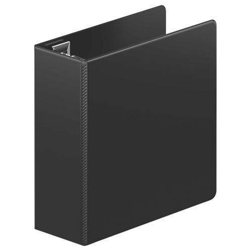 "Wilson Jones 4"" Black Ultra Duty D-Ring Binder 8pk (W87612PP2) Image 1"