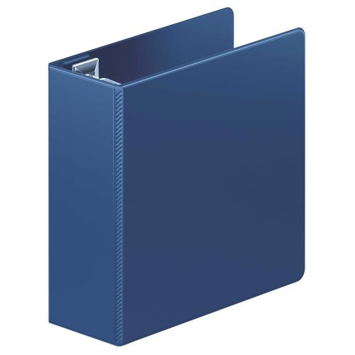"Wilson Jones 4"" Navy Ultra Duty D-Ring Binder 8pk (W876-54-295PP), Wilson Jones brand Image 1"