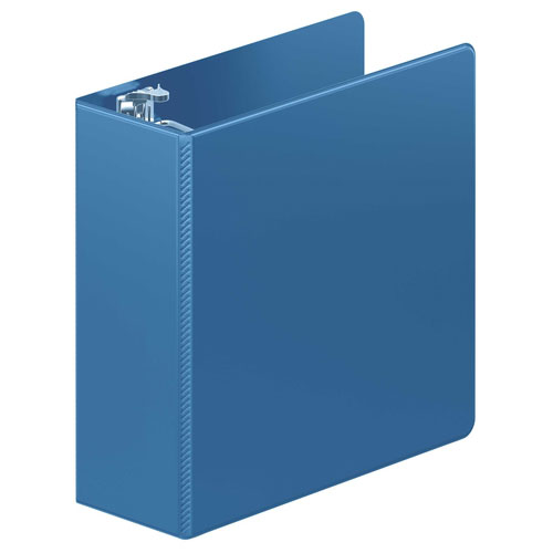 "Wilson Jones 4"" PC Blue Heavy Duty D-Ring Binder 8pk (W384-54-7462PP) Image 1"