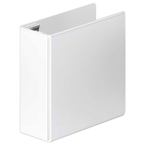 "Wilson Jones 4"" White Ultra Duty D-Ring View Binder 8pk (W86640PP2) Image 1"
