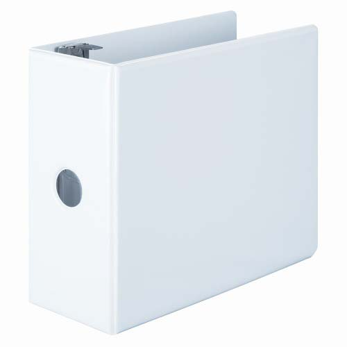 "Wilson Jones 5"" White Basic D-Ring View Binders 2pk - W386-50WPP (W386-50WA), Wilson Jones brand Image 1"
