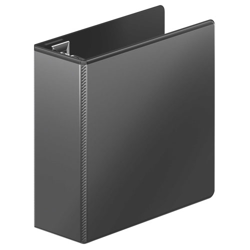 Wilson Jones Black Ultra Duty D-Ring View Binders (WJUDDRVBBK) Image 1