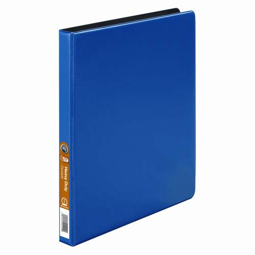 Wilson Jones Blue Heavy Duty Opaque Round Binders (WJHDORRBBL) Image 1