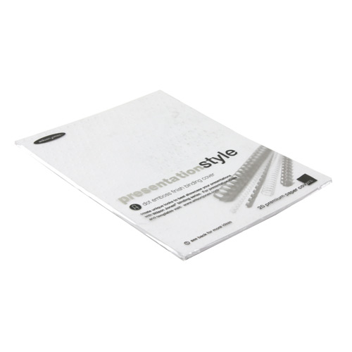 "GBC Wilson Jones Dot Emboss 8.5"" x 11"" Binding Cover - 20pk (W59125) - $2.39 Image 1"