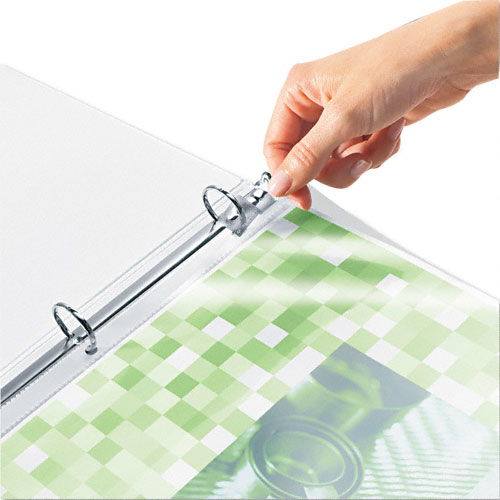 Clear Binders no Rings Image 1