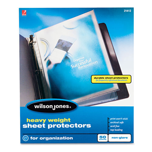 Sheet Protectors Ring Binders Image 1