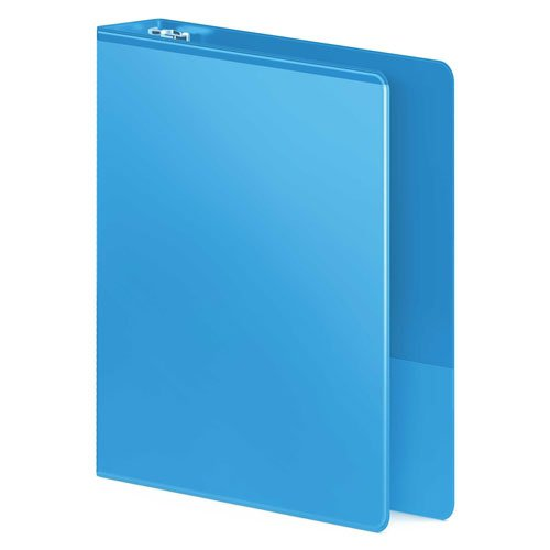 Wilson Jones Light Blue Heavy Duty D-Ring View Binder (WJHDDRVLBL) Image 1