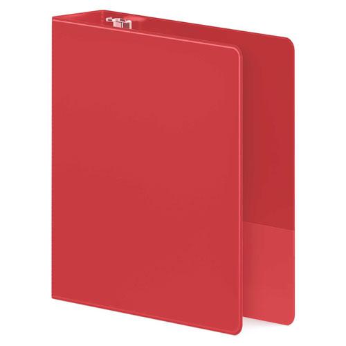 Wilson Jones Red Heavy Duty D-Ring Binders (WJHDDRBRD), Wilson Jones brand Image 1