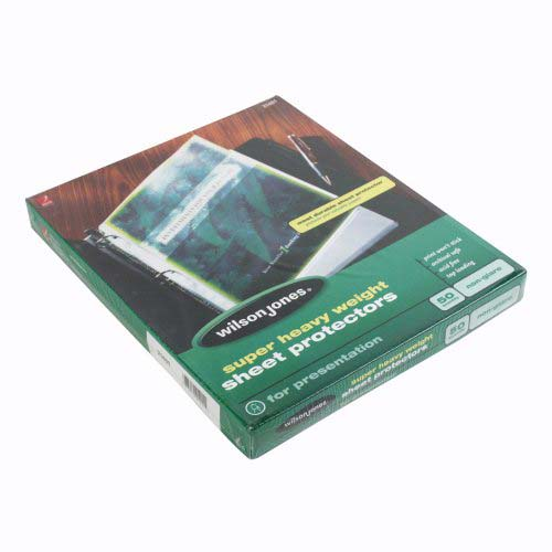 Heavy Duty Sheet Protectors Image 1