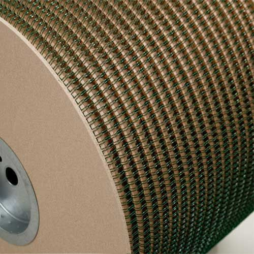 Wire-O Green 2:1 Pitch Double Loop Ring Wire Spool (91JBSPLGRN21), MyBinding brand Image 1