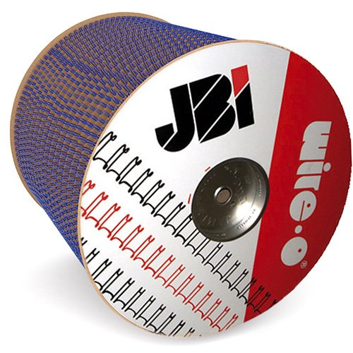 """James Burn Wire-O 5/8"""" Blue 2:1 Pitch Double Loop Ring Wire Spool (11000 Loops) (91JB58SPLBLU) - $99.99 Image 1"""