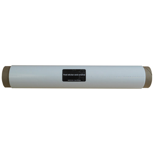 "Wizard Wall 13"" Refill Roll For 1325SBW White Film (WZW-13225W) Image 1"