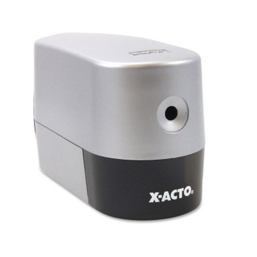 X-Acto Model 2000 Silver Electric Pencil Sharpener (EPI19240), X-Acto brand Image 1