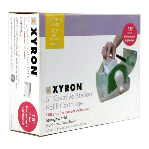 Xyron 510 Acid Free Repositionable Adhesive Cartridge (AT1606-18) Image 1