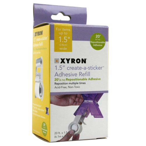 Xyron Create-A-Sticker 150 Repositionable Refill Cartridge (AT156-20), Brands Image 1