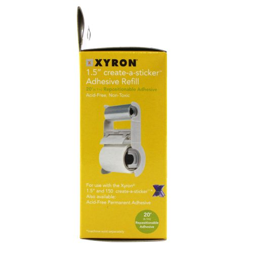 xyron create a sticker refill instructions