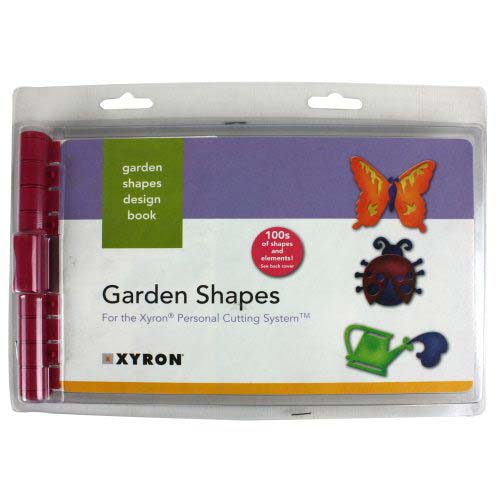 Xyron Personal Cutting System Garden Shapes Design Book (23409) Image 1