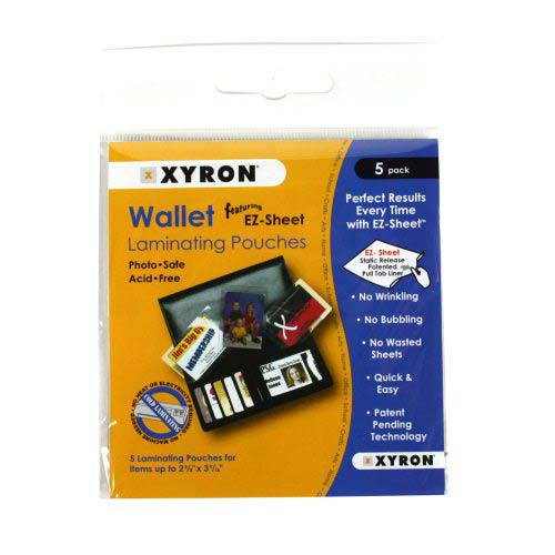 Xyron Cold Laminating Pouches Image 1