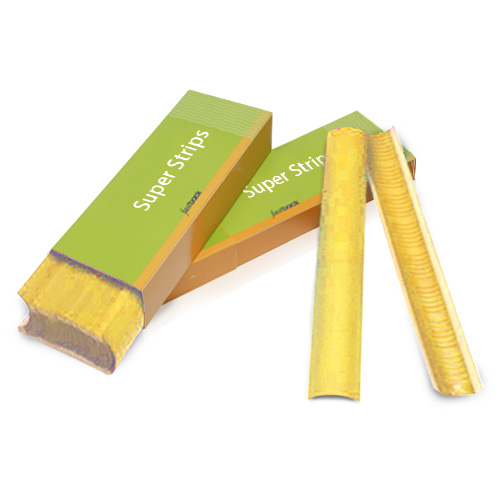 "Powis Parker Yellow 11"" Medium Fastback Super Strips (M151) Image 1"