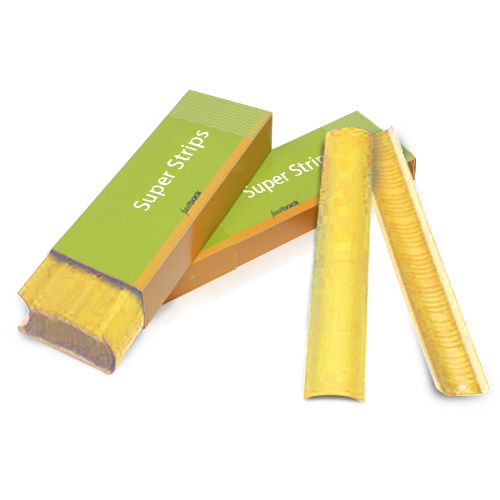 "Powis Parker Yellow 11"" Wide Fastback Super Strips (W151) Image 1"