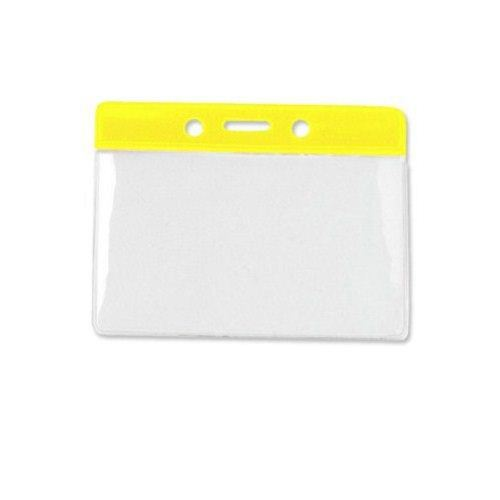 Yellow Badge Holders Image 1