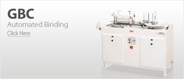 GBC Automated Binding Machines
