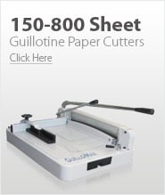 150-800 Sheet Cutting Capacity