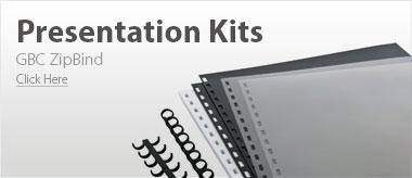 GBC ZipBind Presentation Kits