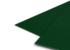 23mil Forest Green Sand Poly Covers