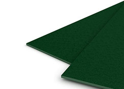 35mil Forest Green Sand Poly Covers