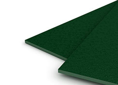 55mil Forest Green Sand Poly Covers