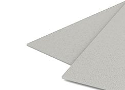 35mil Light Gray Sand Poly Binding Covers