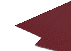 12mil Maroon Sand Poly Binding Covers