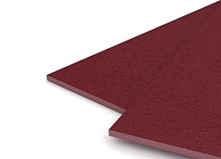 55mil Maroon Sand Poly Binding Covers